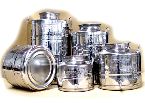 Oil food containers stainless steel oil food storage containers